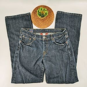 Lucky brand easy rider boot cut jeans